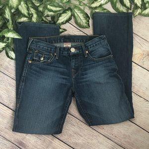 True Religion Boys Billy Dark Wash Jeans Denim